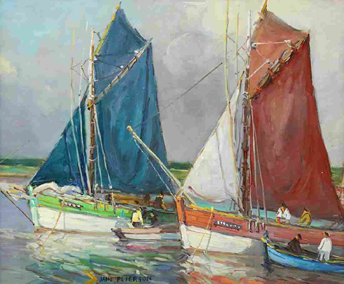 Painting, Jane Peterson