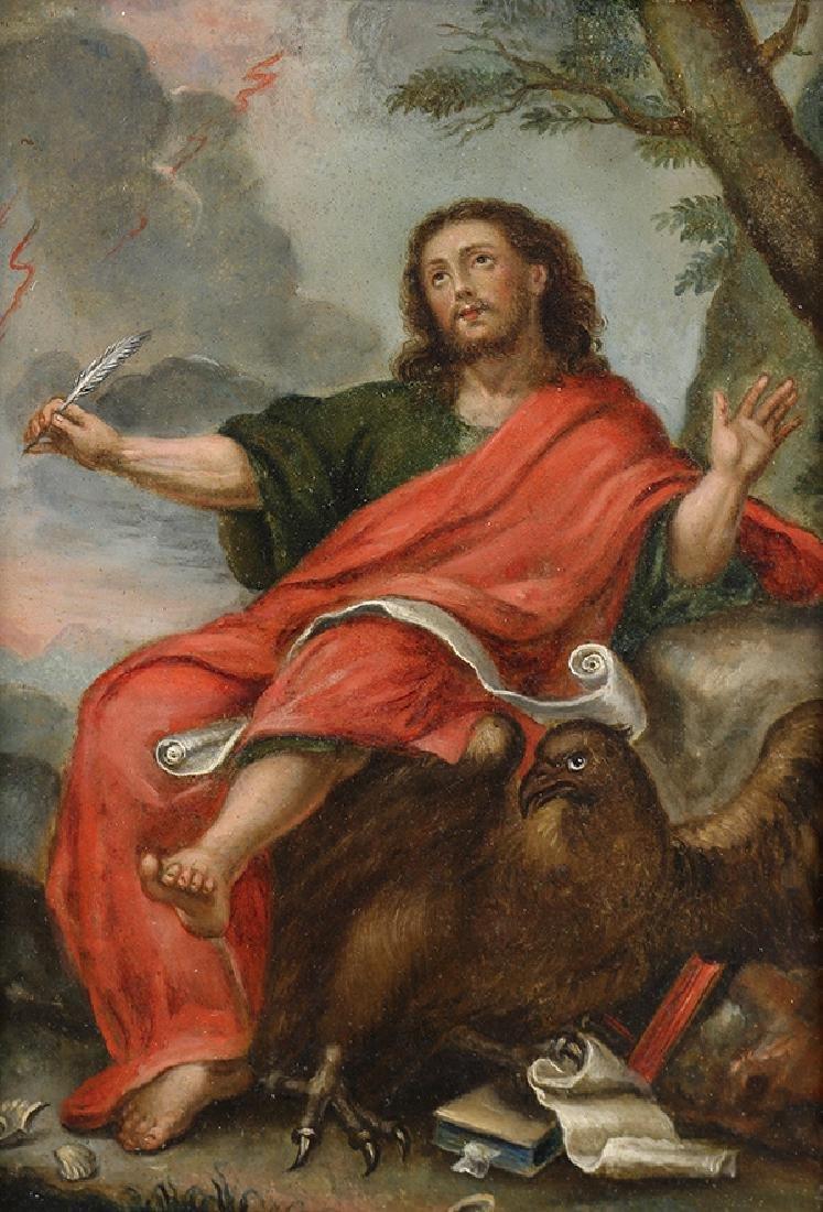 Retablo, John the Evangelist