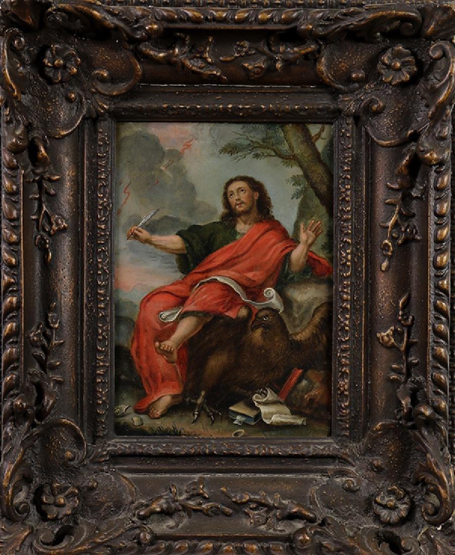 Retablo, John the Evangelist - 2
