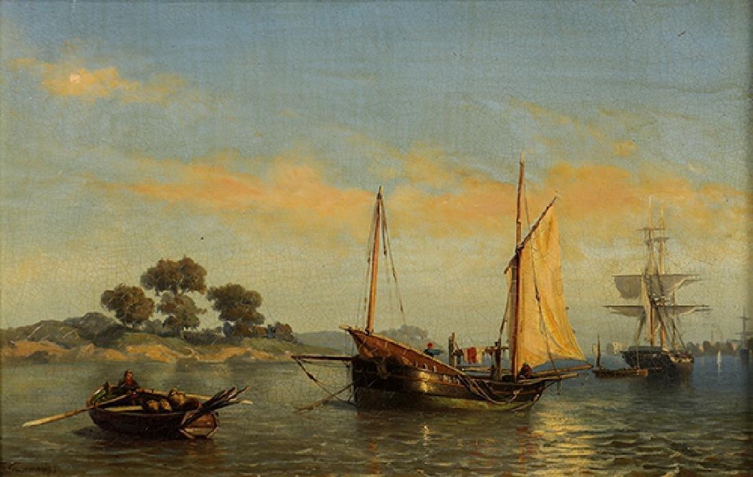 Painting, Jan Theodor Kruseman