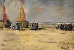 Painting, Bernardus Johannes Blommers