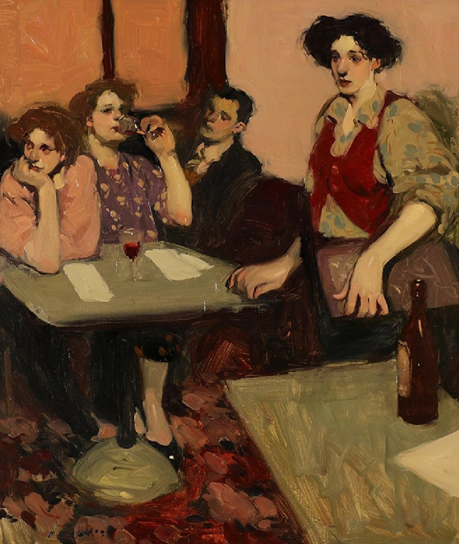 Painting, Milt Kobayashi