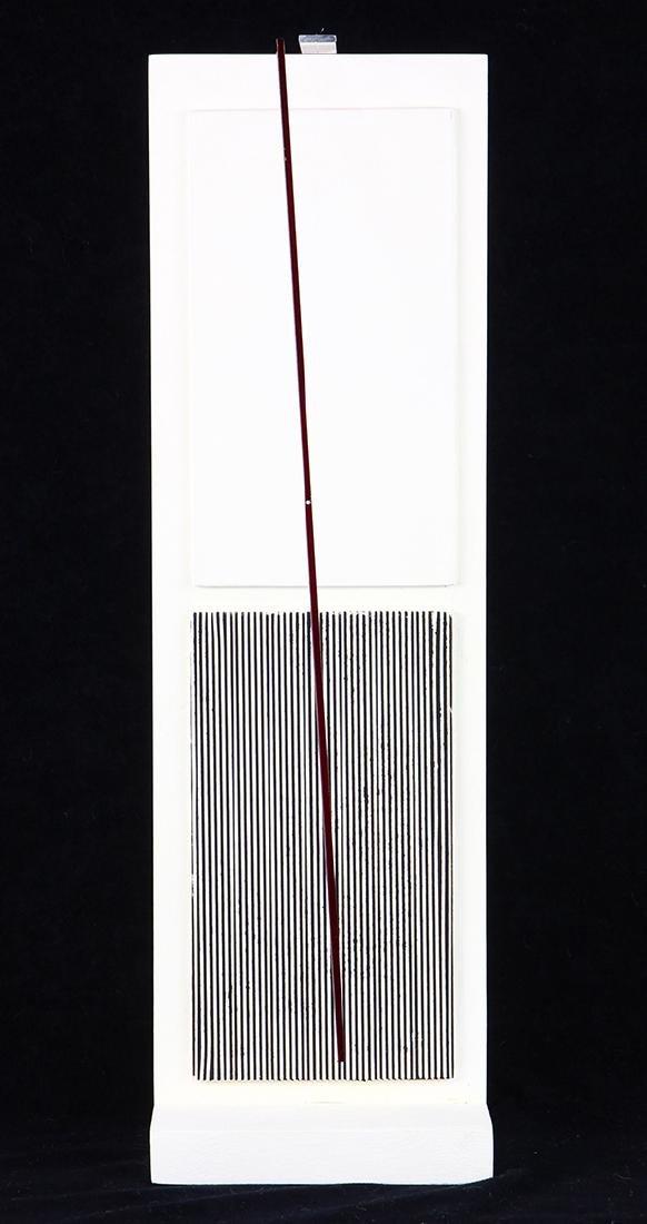 Sculpture, Jesus Rafael Soto, Multiple IV - Jai-Alai,