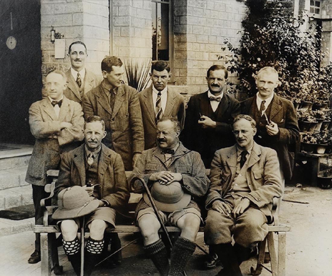Photograph, The 1922 Everest Expedition Party at