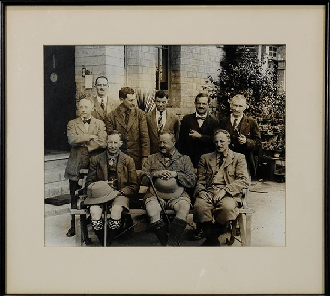 Photograph, The 1922 Everest Expedition Party at - 2