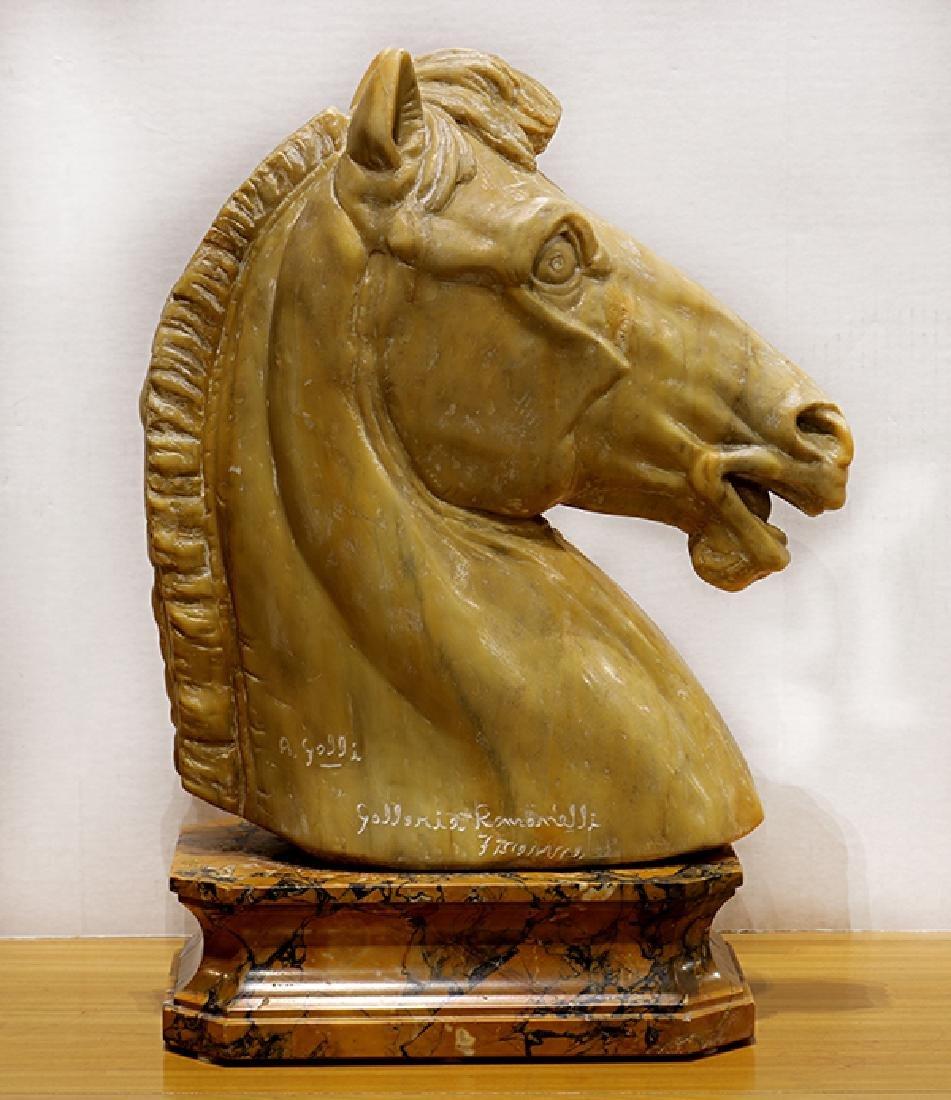 Sculpture, Roman Horse Head