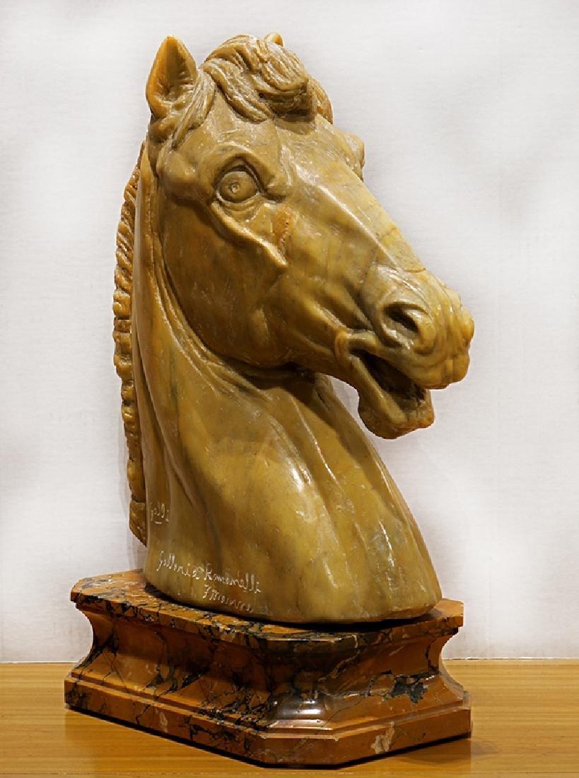 Sculpture, Roman Horse Head - 2