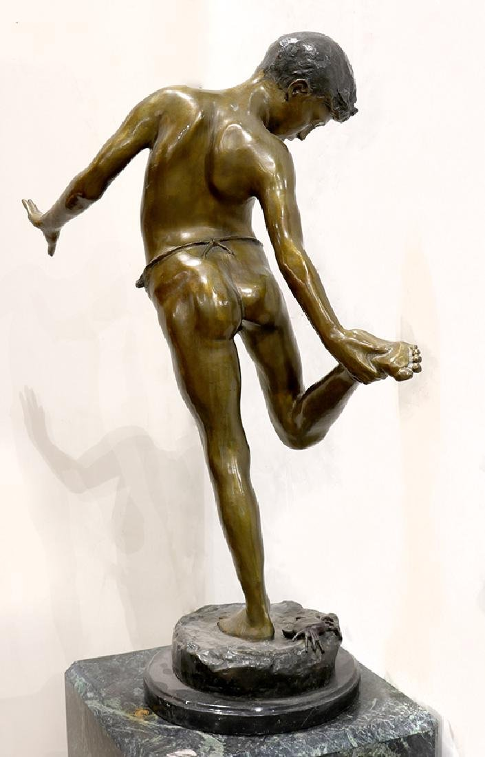 Sculpture, The Crab Boy - 3