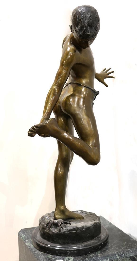Sculpture, The Crab Boy - 4