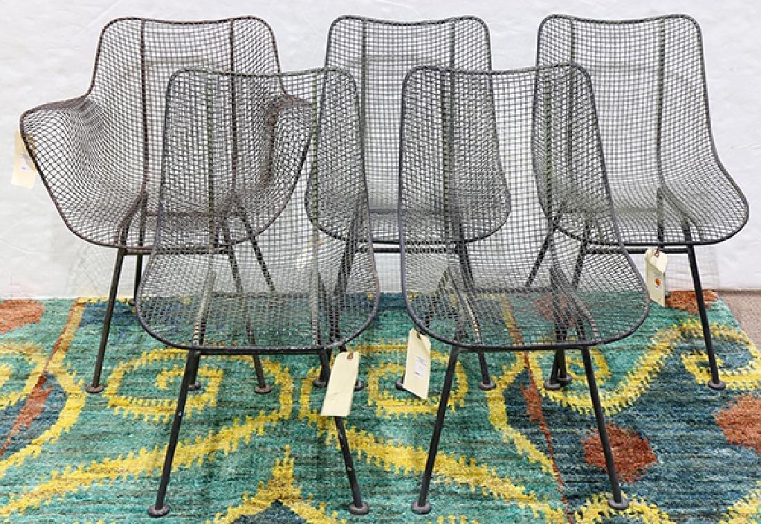 (lot of 6) Russell Woodard Sculptura chairs