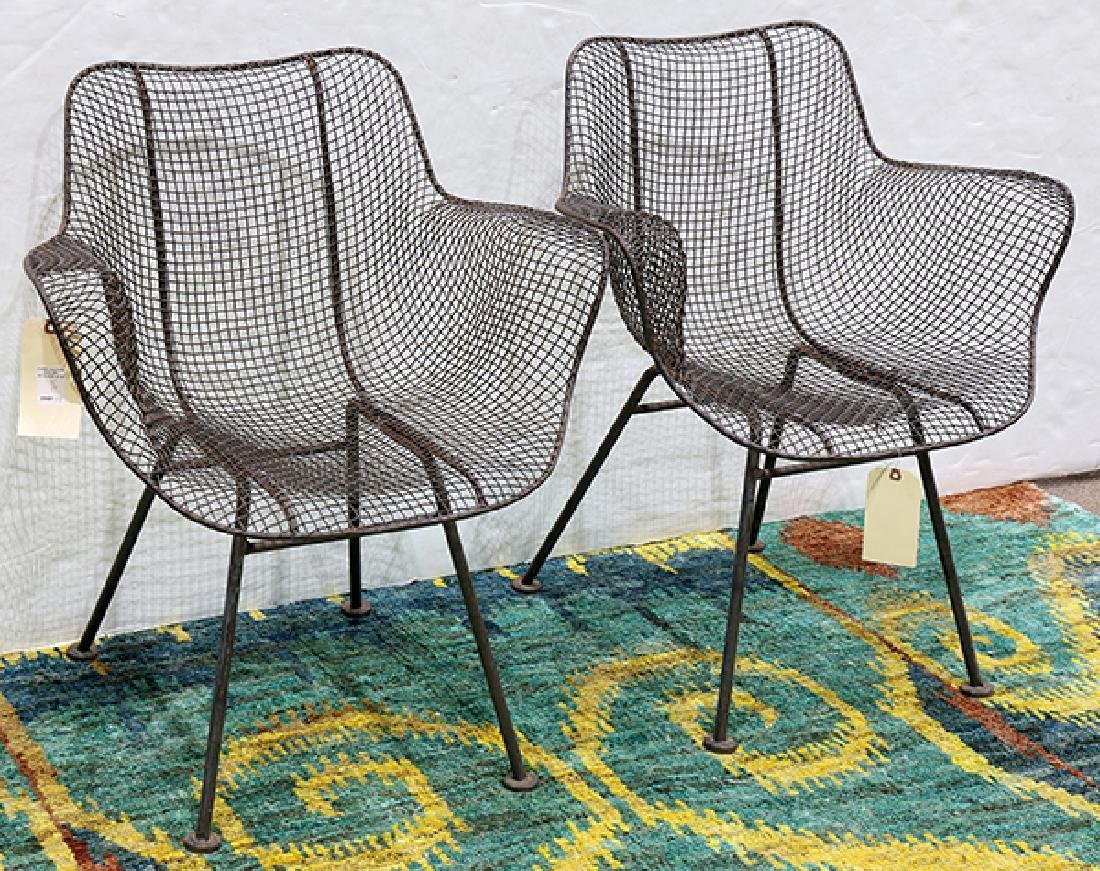 (lot of 6) Russell Woodard Sculptura chairs - 2