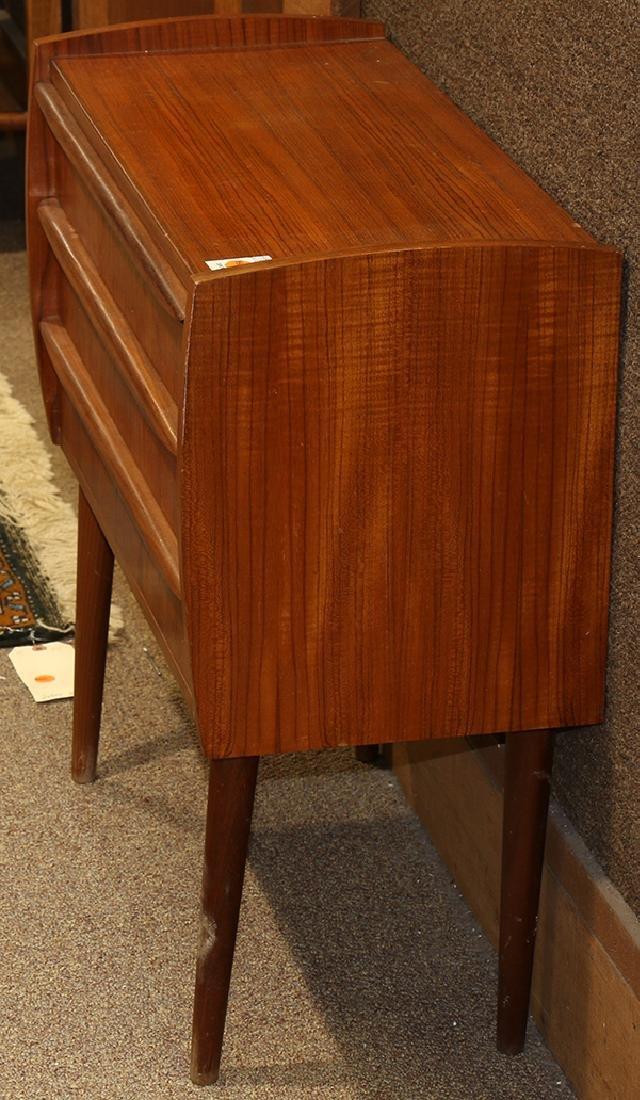 Mid-Century Modern teak console table, the rectangular - 2