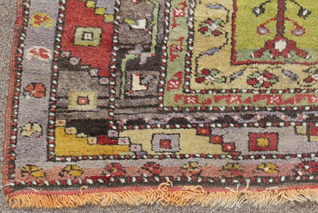 "Turkish Prayer rug, 4' x 5'6"" - 2"