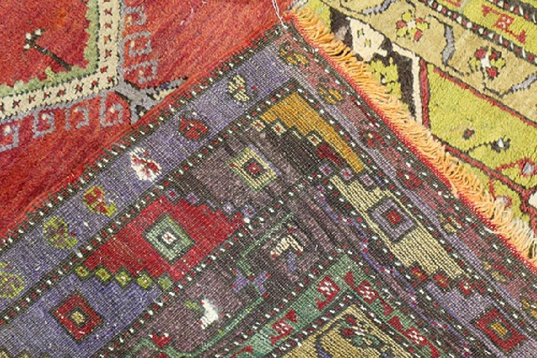 "Turkish Prayer rug, 4' x 5'6"" - 3"