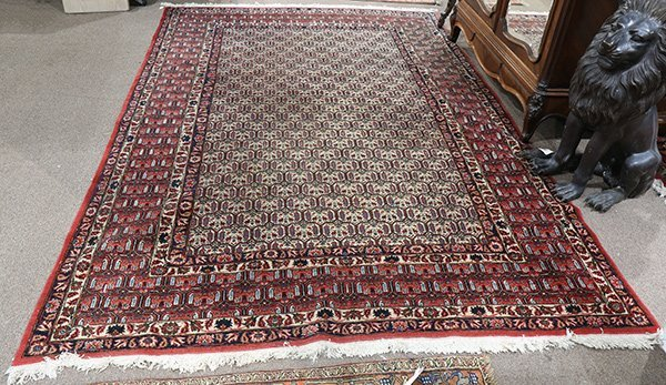 Persian Botemir carpet, 7' x 10'5""