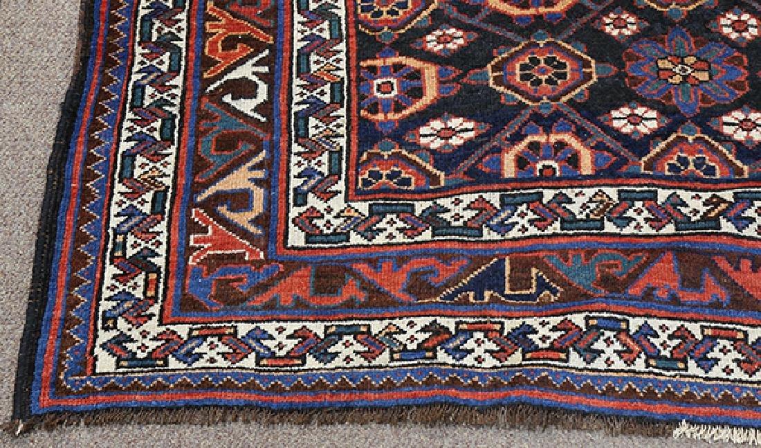 "Antique Afghan Turkoman carpet, 12'6"" x 7'3"" - 2"
