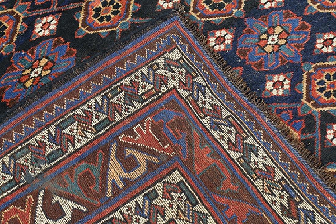 "Antique Afghan Turkoman carpet, 12'6"" x 7'3"" - 3"