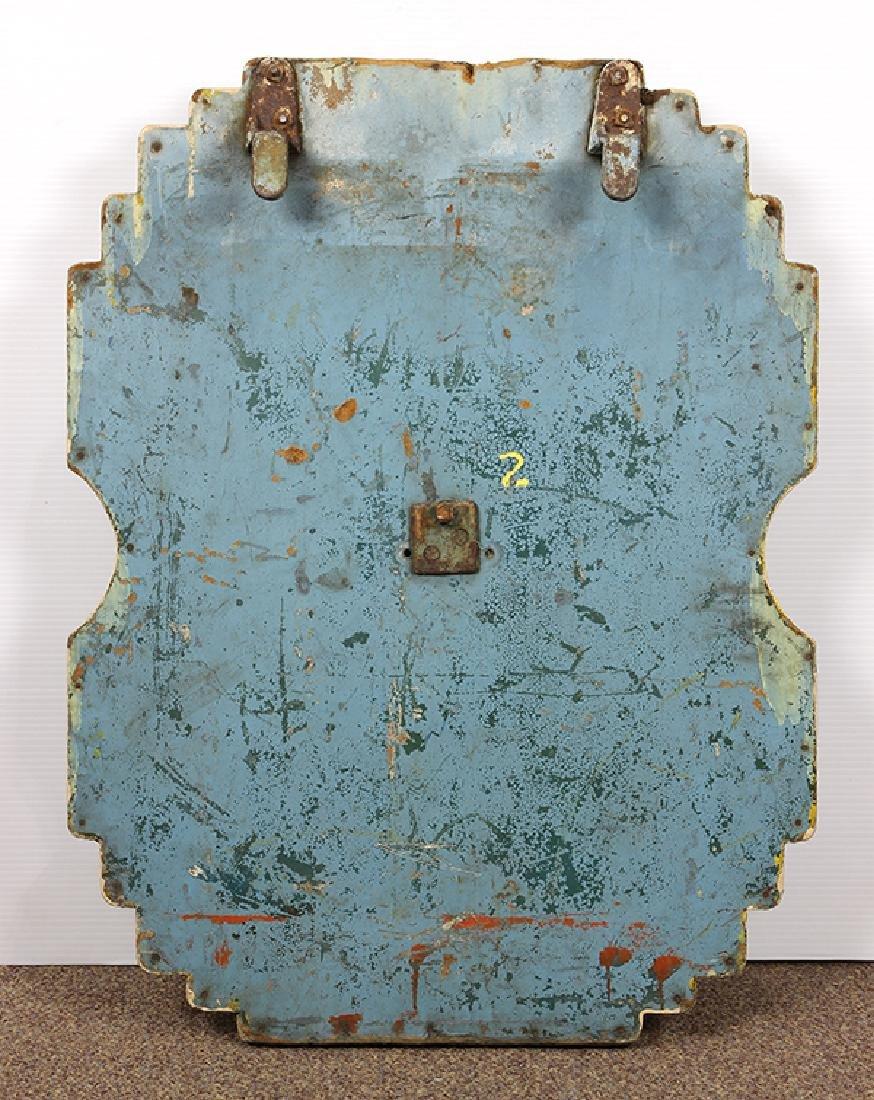 (lot of 2) Allan Herschell carousel panels, each having - 2