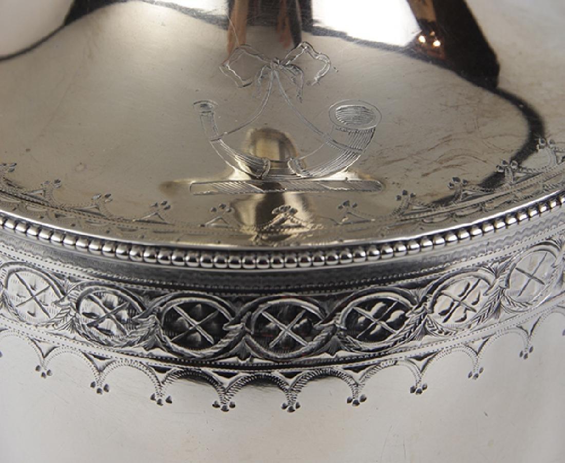 George III sterling silver jug, London 1785, Hester - 2