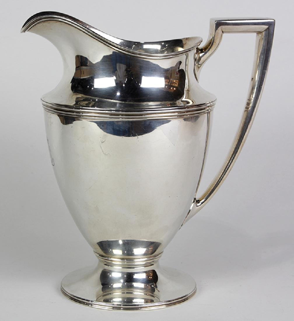 Tiffany & Co. sterling silver water pitcher 1907-1947