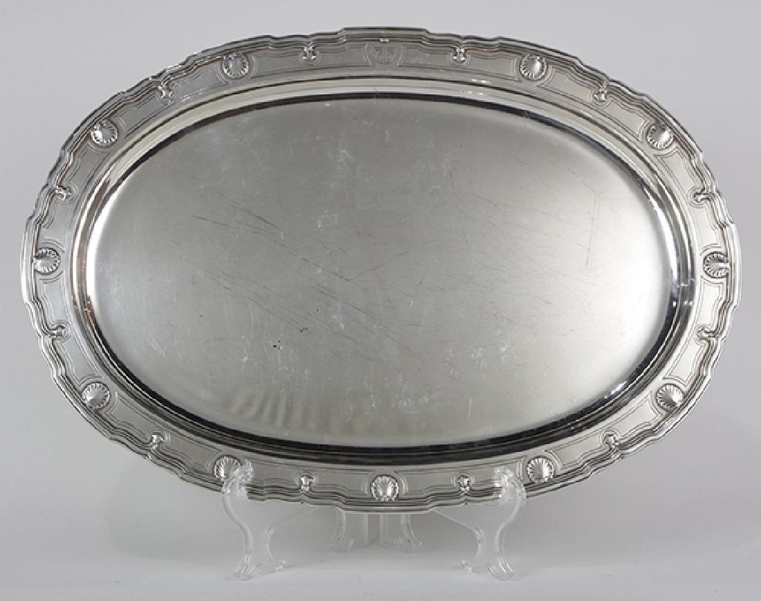 Tiffany & Co. sterling silver platter