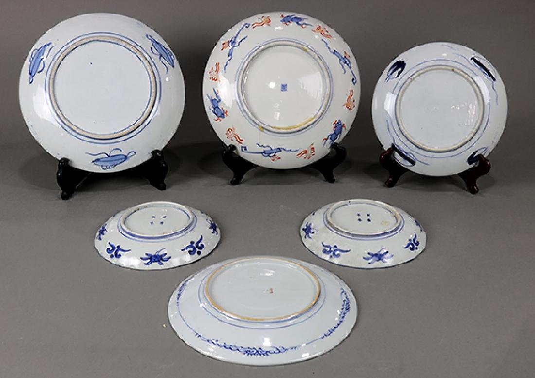 Japanese Imari Chargers and Dishes, meiji - 2