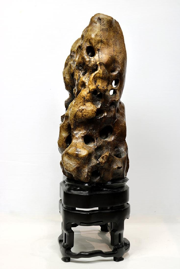 Chinese Brown Scholar's Rock - 2