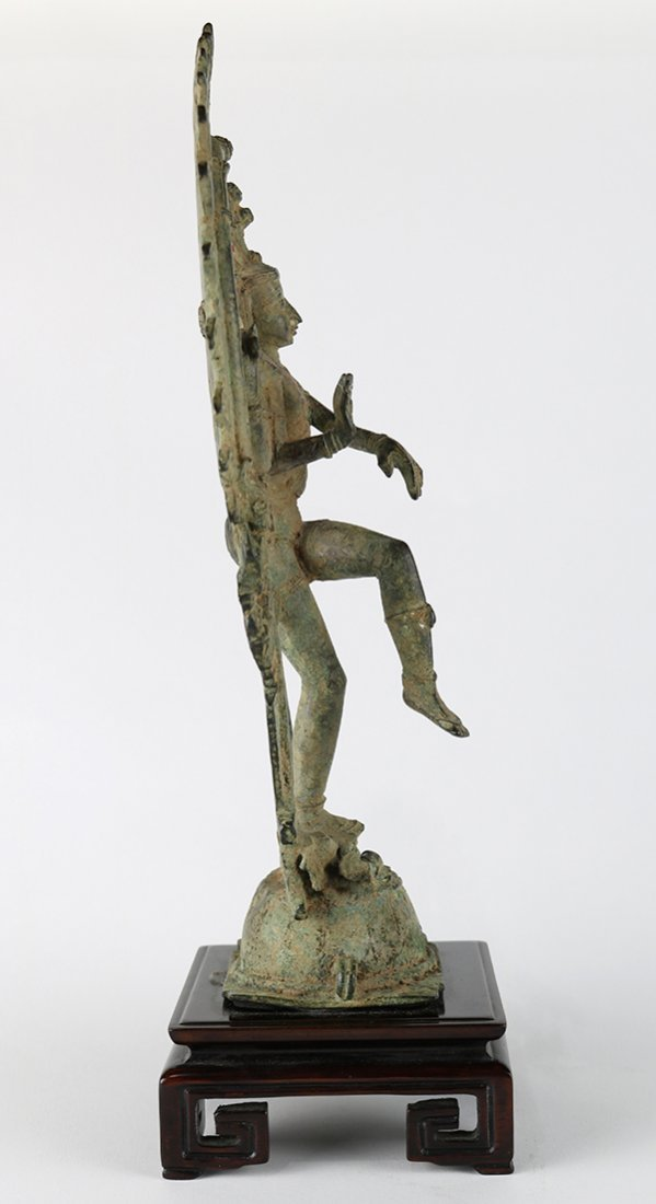 Indian Bronze Nataraja - 4