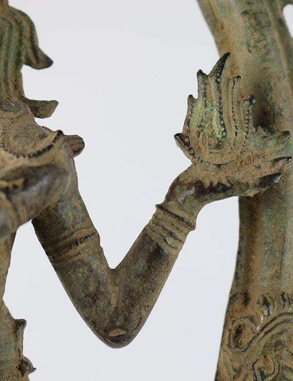 Indian Bronze Nataraja - 7