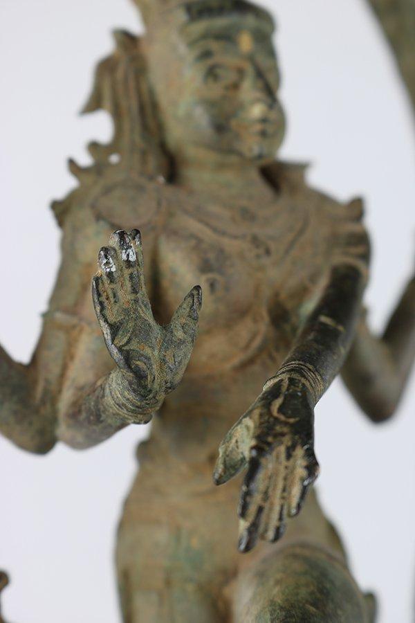 Indian Bronze Nataraja - 8