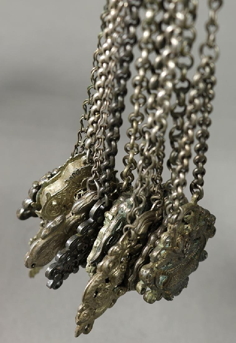 Chinese Silver Pendents - 2