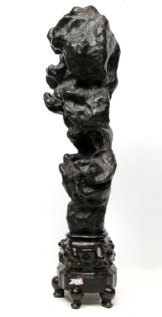 Chinese Black Scholar's Rock - 4