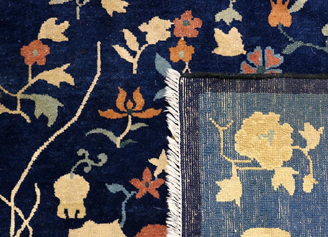"Antique Peking carpet (wear) circa 1900, 9' x 10'7"" - 3"