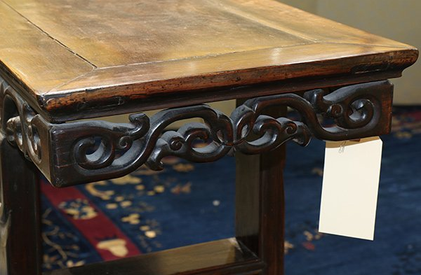 Chinese Wooden Altar Table - 5