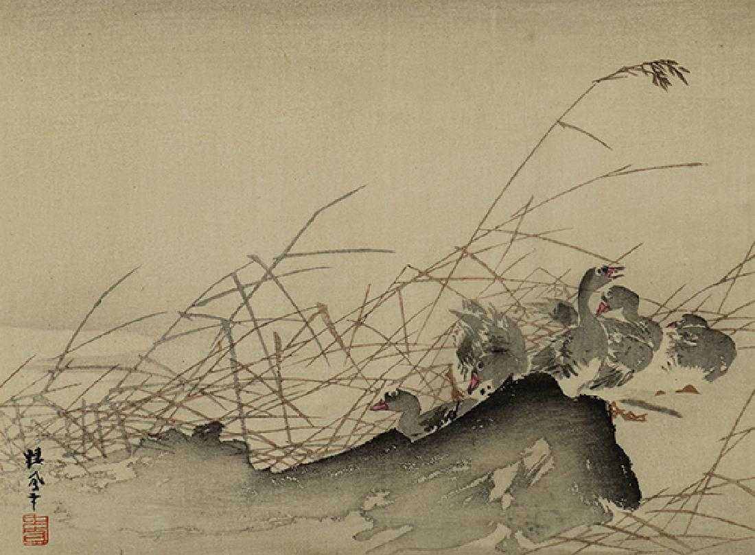 e6e79b9a Japanese Woodblock Print, Takeuchi Seiho