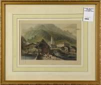 Prints, European Village Scenes