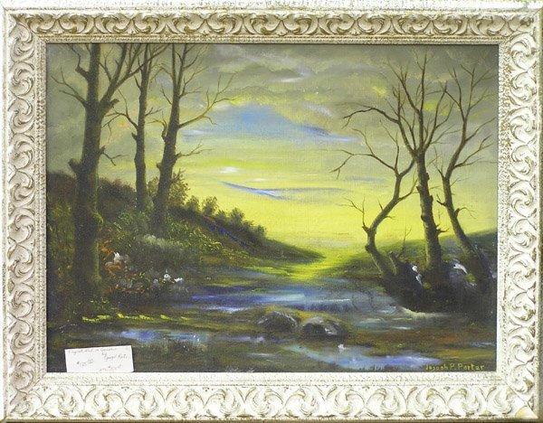 2: painting landscape Joseph Porter