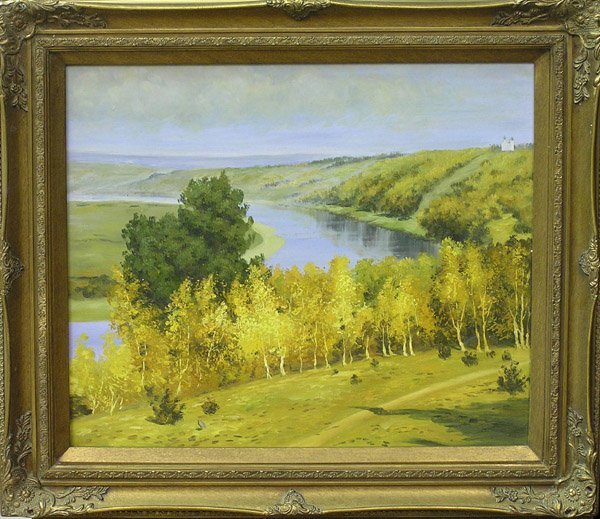 7: Painting Landscape Contemporary