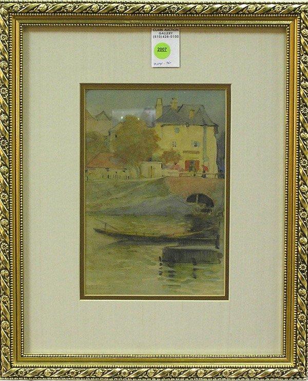 2007: Painting Leo Diet European Landscape