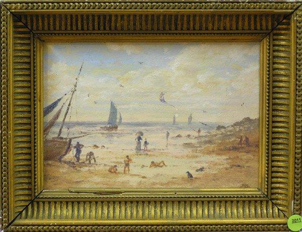 2011: Painting Beach Scene European