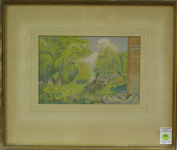 2014: Painting James Blomfield Canadian