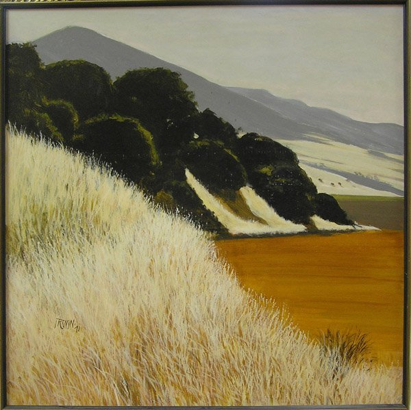 2307: Painting Don Irwin California Abstract