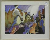 2333 Watercolor Elias Friedensohn American