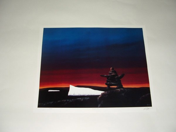 6033: Offset lithographs, From the West collection