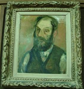 6389: Oil, Max Band, Portrait, Californian