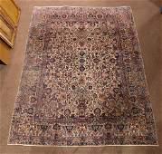 "Antique Persian Kerman carpet, 8'10"" x 11'8"""