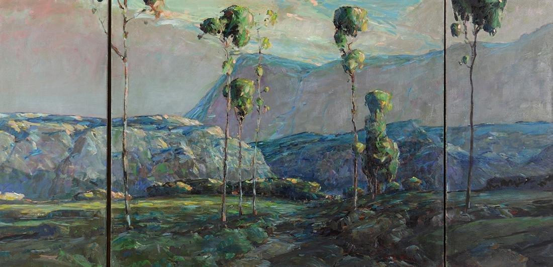 Triptych, Karl Schmidt