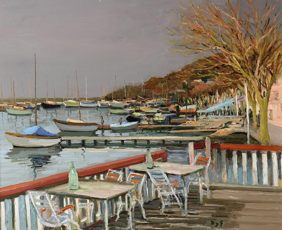 Painting, Marcel Dyf
