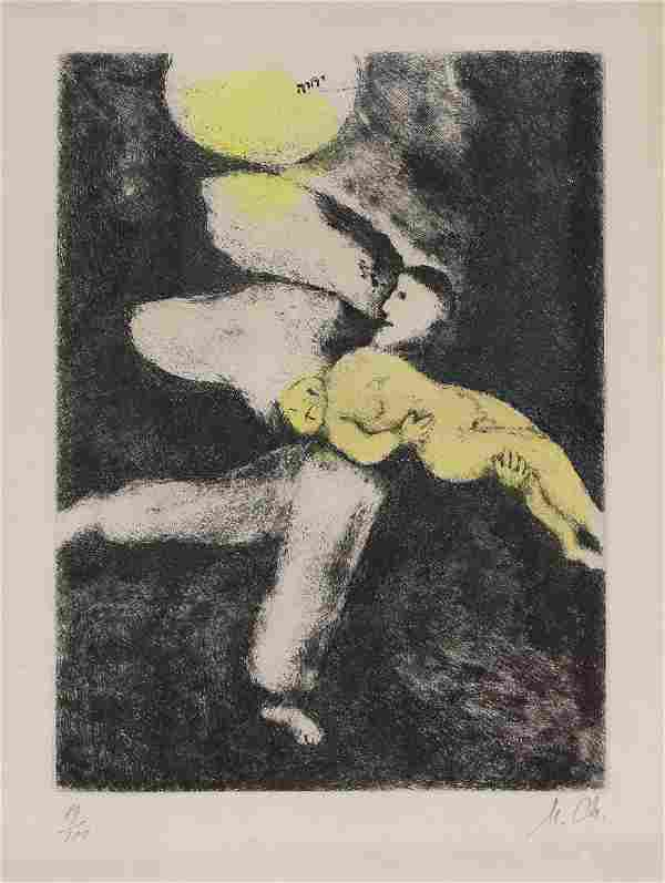 Print, Marc Chagall, Creation of Man