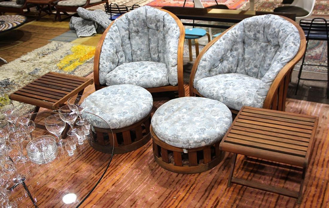 (lot of 6) Kipp Stewart Designs for Summit Furniture